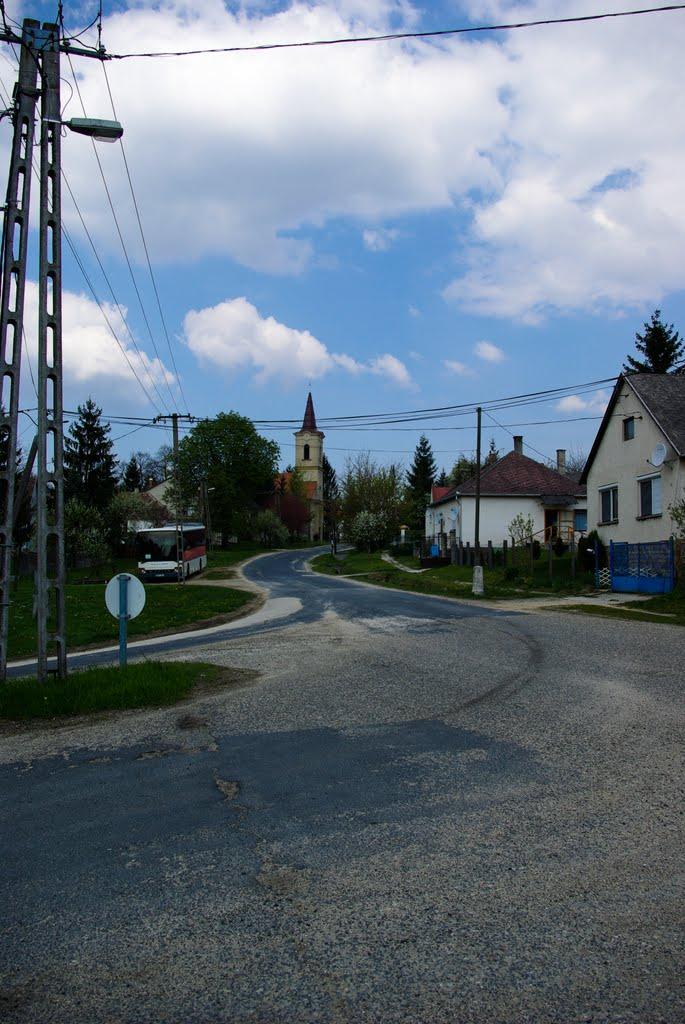 Aka utcarészlet